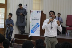 UET Peshawar Technothon 2017 (Motivation)